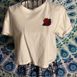 Cropped Holister top